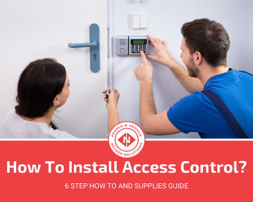 How To Install Access Control