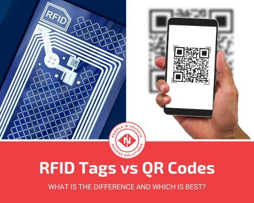 RFID Tags vs QR Codes